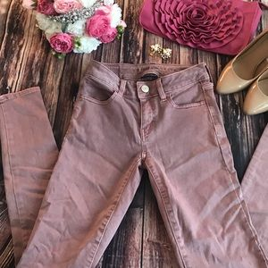 💐 American Eagle  next level stretch mauve  jeans